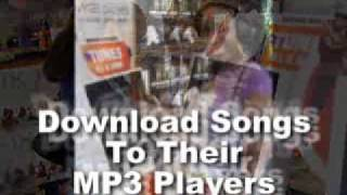 Download Songs Onto Your Childrens