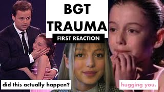 Reacting to My Breakdown on BGT (Honest) - Hollie Steel
