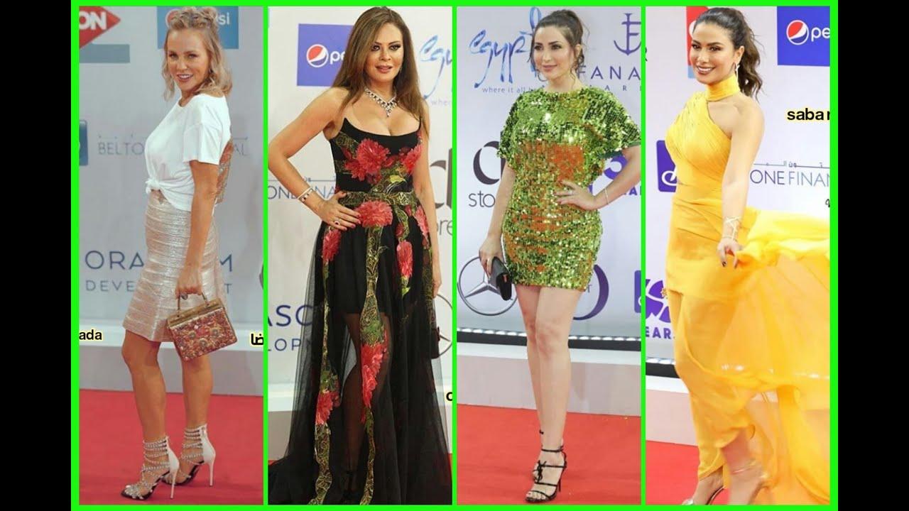 [VIDEO] - اجرأ  فنانات ظهروا بفساتين مثيره في مهرجان الجونه 2019 1