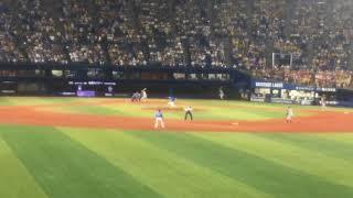 2017.8.12 阪神タイガース対横浜ベイスターズ 勝祭 打席 大和.