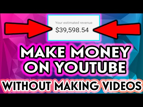 EARN $1000 a DAY - How To Make Money on YouTube Without Making Videos: For Beginners!