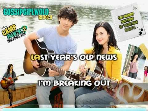 Demi Lovato Brand New Day Karaoke (HD)