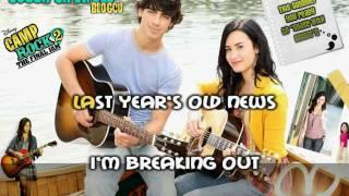 Demi Lovato Brand New Day Karaoke (HD)