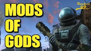 fallout 4 mods mini nuke machine gun skyrim mario bros rocket 69 fo4 funny moments
