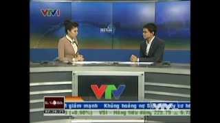 Bản tin tài chính kinh doanh VTV1 sáng 22/03/2013