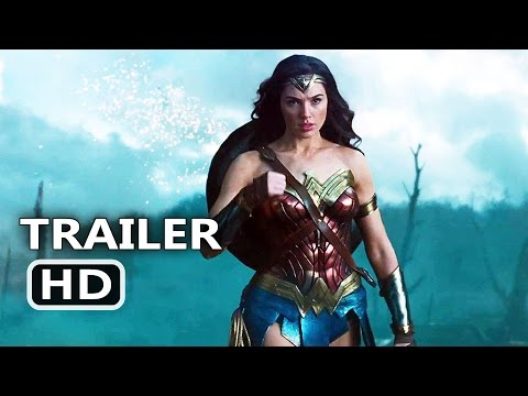 WONDER WOMAN Official Trailer # 2 (2017) Gal Gadot Action Movie HD
