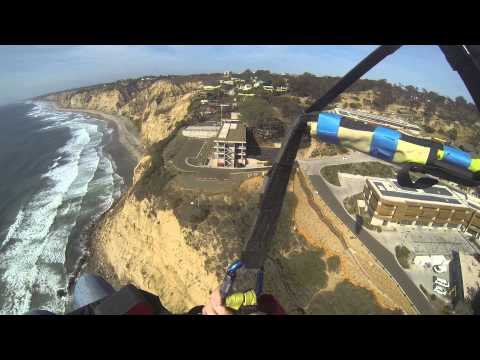 Kathy Colwell - Paragliding - Torrey Pines 24 March 2015