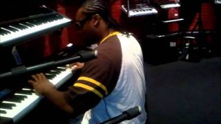 M.E.N.A.C.E aka Cliff Da Gift Playing at guitar center