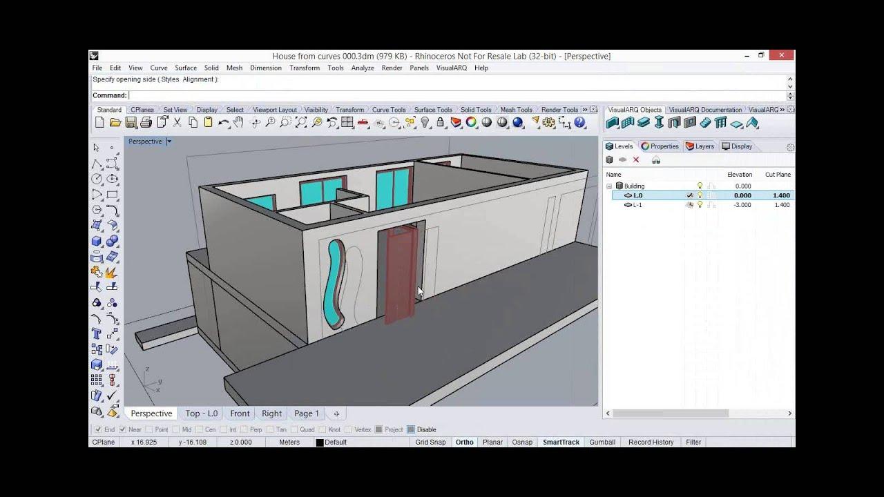 Customizable Floor Plans Novedge Webinar 132 Visualarq 1 8 Bim And Architectural