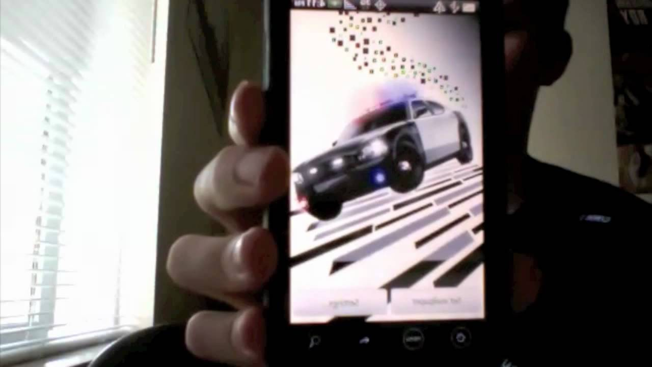 Android Police Cop Car Live Wallpaper Youtube