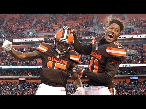 Cleveland Browns excited about first win of the season