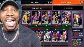 nba live mobile 18 early gameplay new lineups coach chemistry ep 2