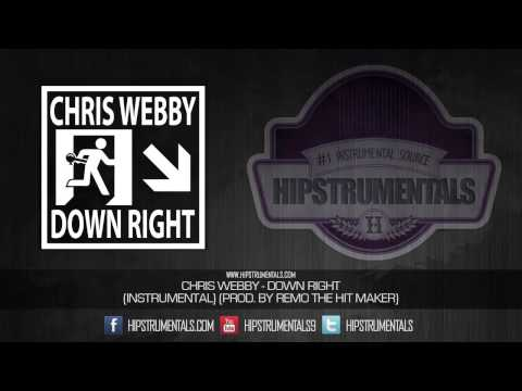 Chris Webby - Down Right [Instrumental] (Prod. By Remo The Hit Maker) + DOWNLOAD LINK