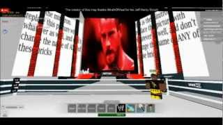 WWE Monday Night Roblox 2013