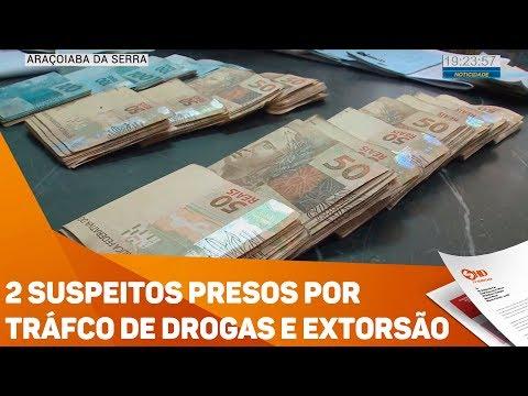 2 suspeitos presos por tráfico de drogas e extorsão - TV SOROCABA/SBT