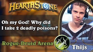 Hearthstone Arena - [Thijs] Stupid mistake, but good result!