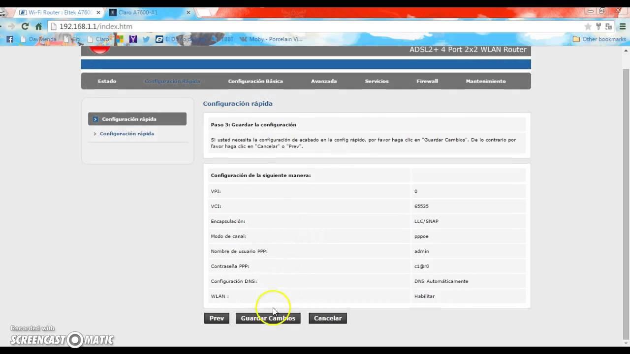 Cambiar Contrase 241 A Wifi En El Nuevo Modem Claro A7600 A1