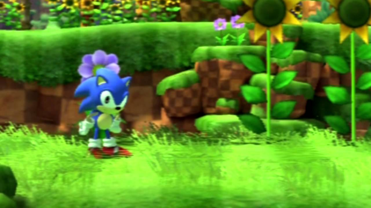 Classic Sonics Waaaaaitiiiiiing Sonic Generations Wait Animations