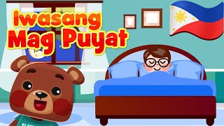 Iwasang Mag Puyat | Flexy Bear Original Nursery Rhymes & Songs | Awiting Pambata