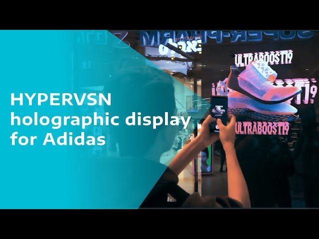 HYPERVSN launches the Adidas Ultraboost sneaker