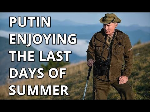 EXCLUSIVE FOOTAGE: Putin Goes Hiking And Wildlife-Gazing With Shoigu on Siberian Summer Holiday