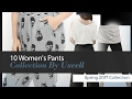 10 Women's Pants Collection By Uxcell Spring 2017 Collection