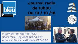 france bleu champagne ardenne 101018 epernay