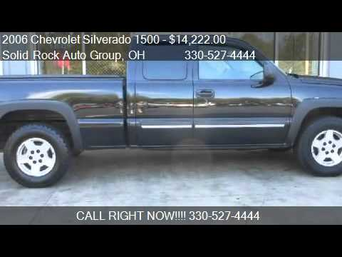 2006 Chevrolet Silverado 1500 Ls Ext Cab 4wd Z71 For Sale Youtube