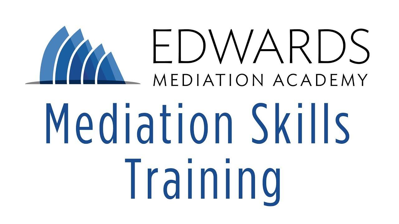 Mediation Training - Expect Conflict - Edwards Mediation Academ