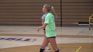 HAGERSTOWN VOLLEYBALL PLAYER LANIE McCLANAHAN