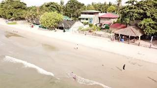 August 8, 2019/645 Johnx2 flying DJI drone in Opol beach. Philippines