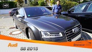 Фото с обложки Осмотр Audi S8 2015 Года. Без Цензуры.
