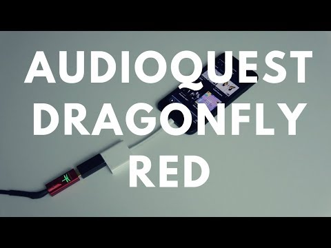 Reviewed: Audioquest Dragonfly Red DAC/Amp + Tidal MQA