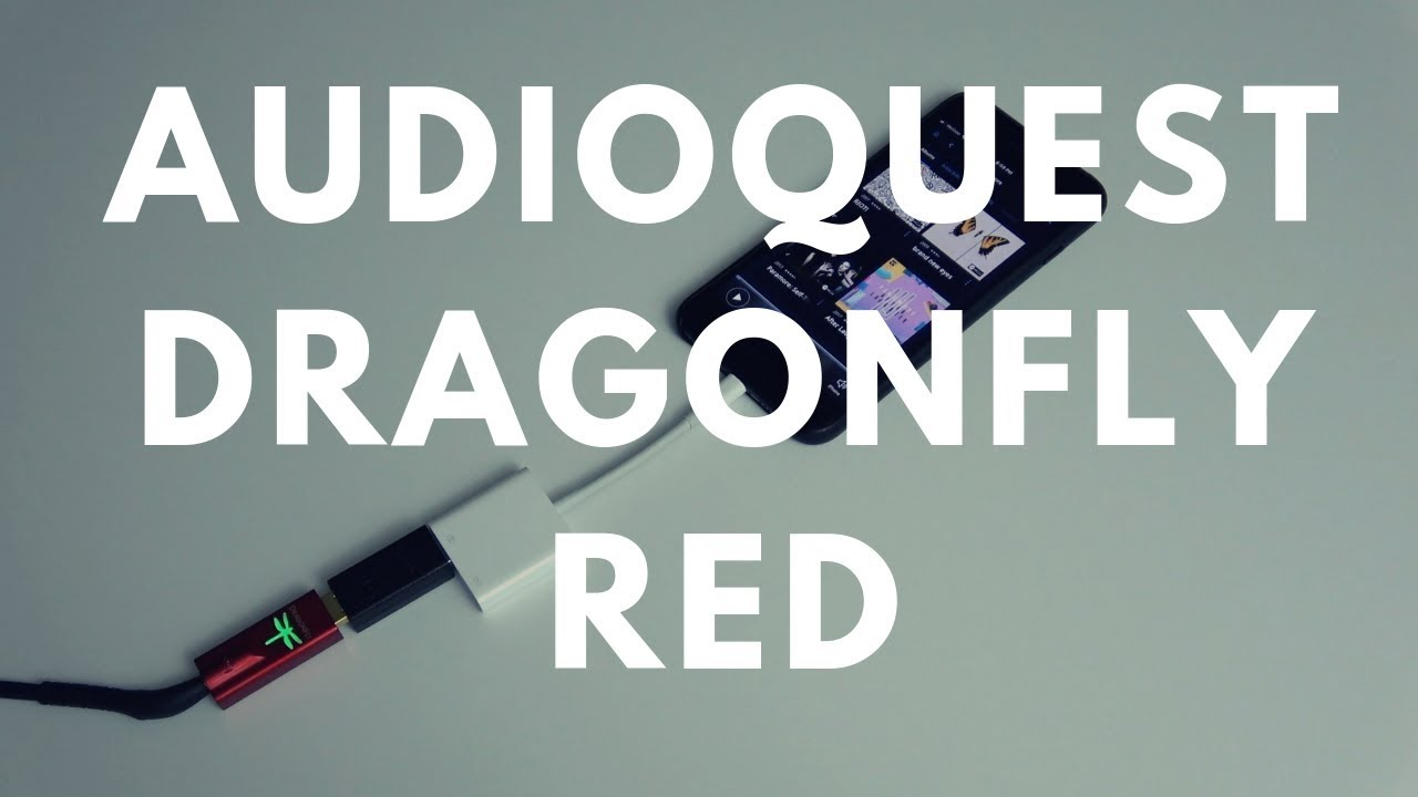 Reviewed: Audioquest Dragonfly Red DAC/Amp + Tidal MQA & Qobuz Talk