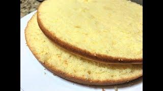 ПОСТНЫЙ БИСКВИТ. Самый Лучший Рецепт. Мягкий, не сухой. Sponge cake