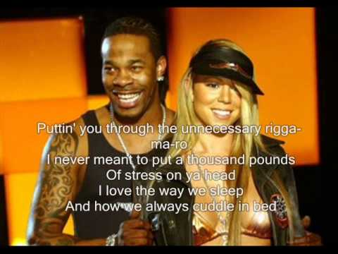 Busta Rhymes ft. Mariah Carey - I Know What You Want (With Lyrics)