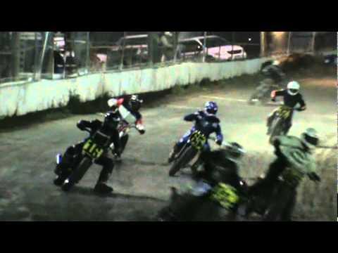 Perry Smith Randy Brunelli Cora speedway Dixon Ca. motorcycle flattrack dirt track