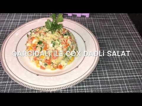 Lavaş salatı dadına doyum olmayan dondurma dadında salat Asan dadlı salat resepti