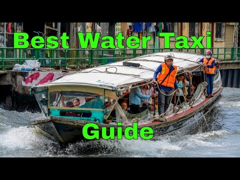 How to use the Boat Taxi in Thailand Saen Saep Canal