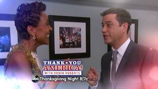 Thank You America with Robin Roberts airs Thanksgiving Day 8/7c (15s)