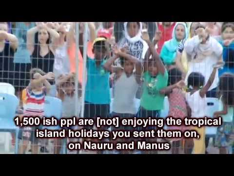 Nauru = Manus = Nauru = Hell