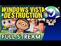 [Vinesauce] Joel - Windows Vista Destruction ( FULL STREAM Part 1 )