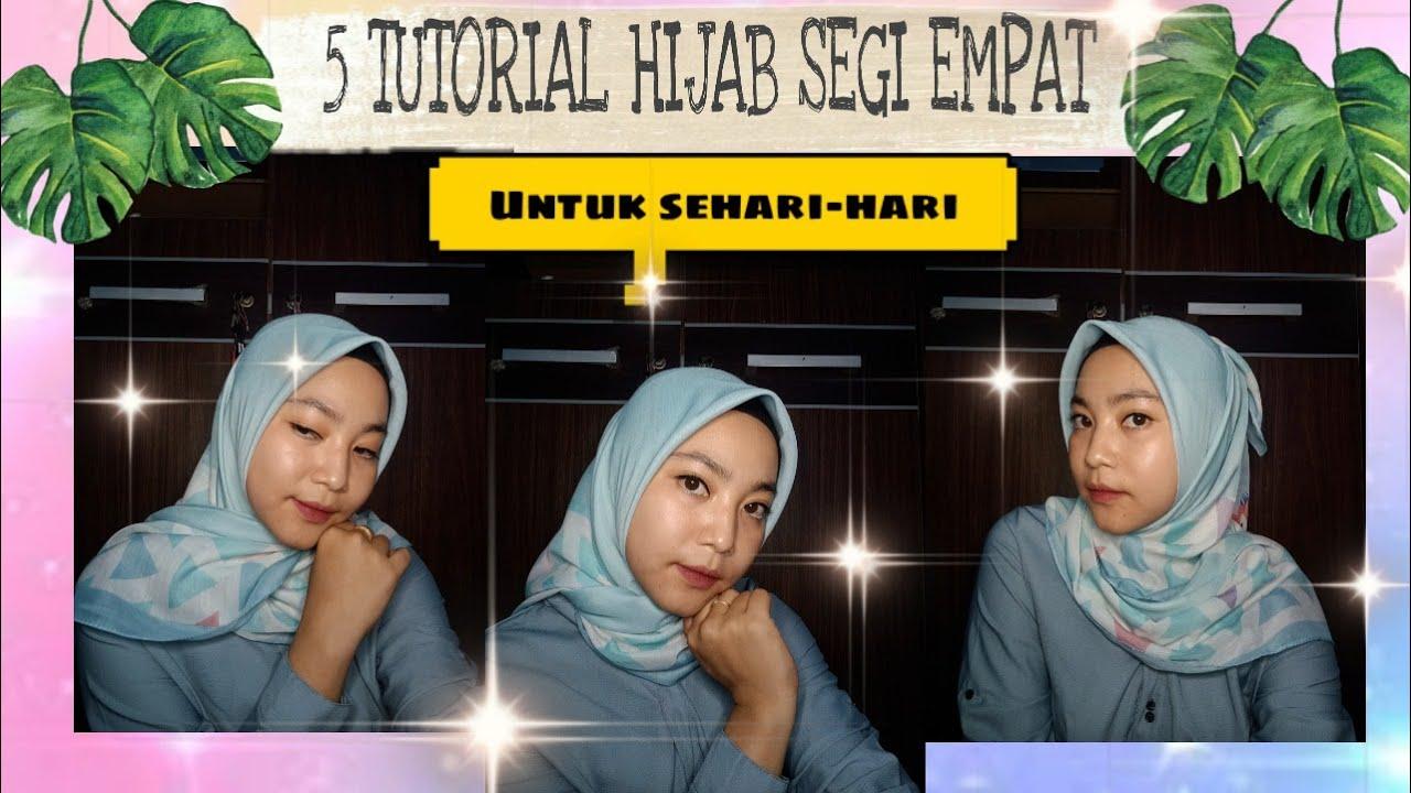Tutorial hijab syari, menutup dada dan mudah ala Ainun