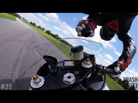 Highspeed POV Superbike Crashes | Trackday Racing 2017