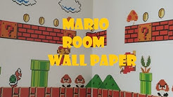 Mario Room Wallpaper/ Sticker!! (Amazing)