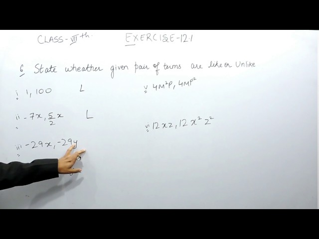 Chapter 12 Exercise 12.1 Q 6 - Algebraic Expressions class 7 maths - NCERT Solutions