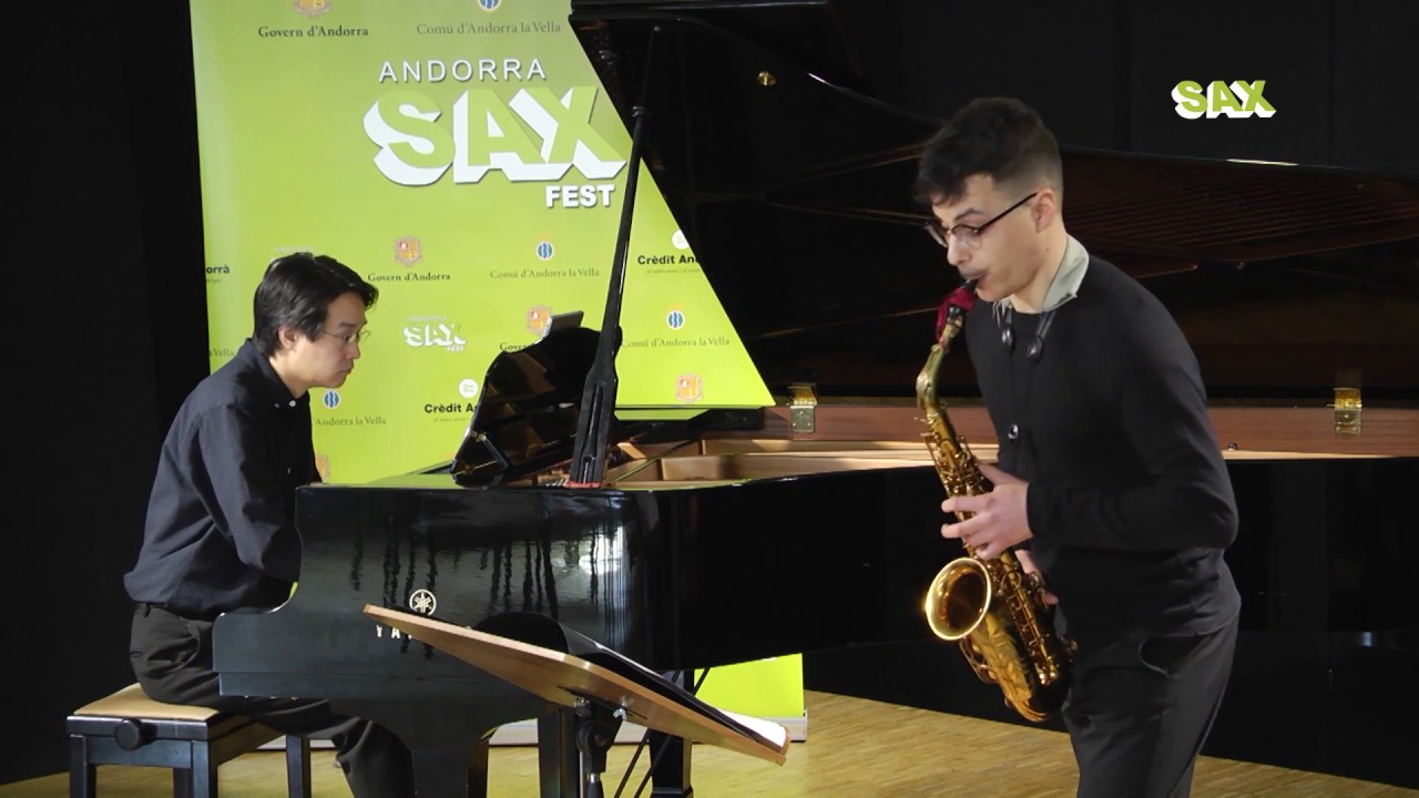MATTIA CATARINOZZI - 1st ROUND - V ANDORRA INTERNATIONAL SAXOPHONE COMPETITION 2018