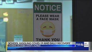 VIDEO: Schools juggling COVID-19 and Sally recovery