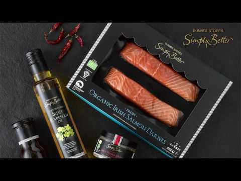 Dunnes Stores Simply Better l Soy & Ginger Glazed Organic Irish Salmon