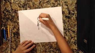Drawing Johny cage mortal kombat